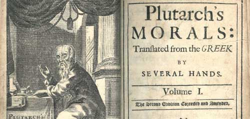 "translation of plutarchs essays Montaigne and repentance  montaigne dedicated to his wife francoise de la chassaigne his departed friend la boetie's translation of plutarch's ""letter of ."